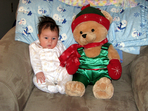 Kara_and_holiday_bear